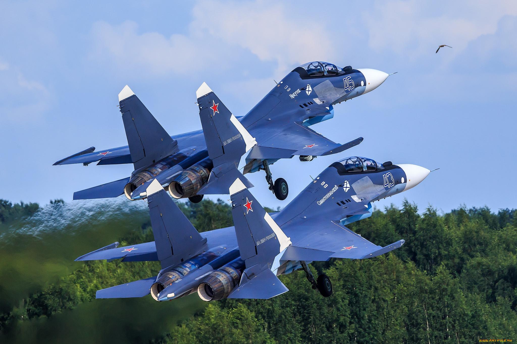 Фото российских боевых самолетов